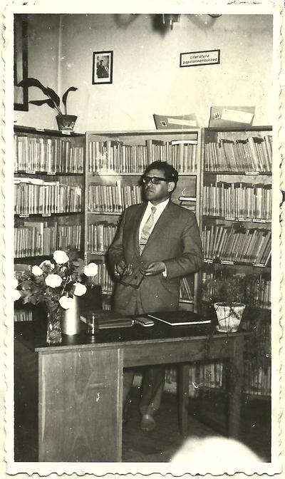 26.05.1966. Władysław Ogrodziński na spotkaniu autorskim w Łabiszynie