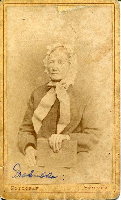 1864-1874. Wiktoria Przybylska (1808-1874), fotografia portretowa