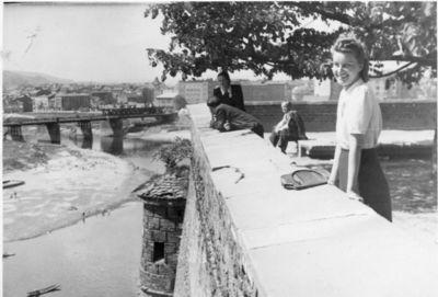 1945-1947. Izabella Przybylska z domu Olszańska (1922-2008)