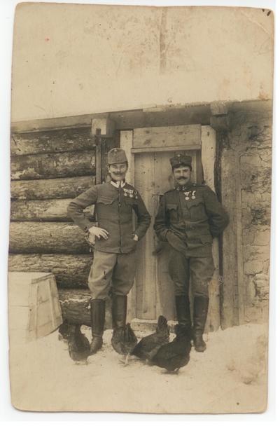 1914. Żołnierze austriaccy na Wołyniu