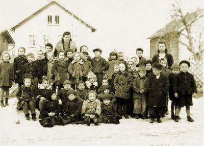 Lata 50. Zima w węglinieckim przedszkolu