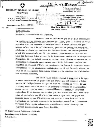 Lettre de Christinger Raymond (1917- à Zutter Philippe (1904-1984)