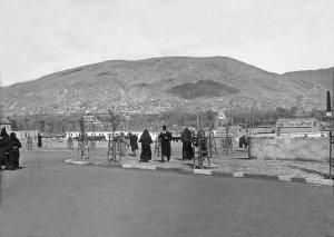 Damascus, Blick von Hedschas-Bahnhofsplatz