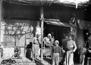 Aleppo, Lagerbild aus dem asiatischen Viertel