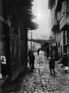 Aleppo, Straße im Bazar
