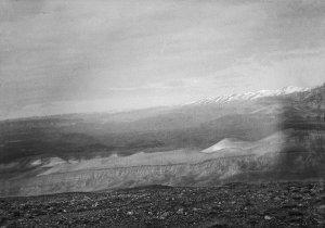 Blick auf den Kamm des Antilibanon vom Stadtberg aus