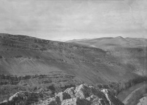Damascus, Barada -Tal von Abels Grab aus