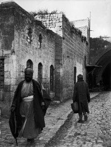 Aleppo-Straßenbild im asiatischen Viertel