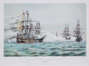 Traefningen ved Helgoland d.9 Mai 1864 / Gefecht vor Helgoland