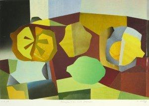 Komposition mit Zitronen