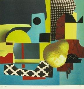 Komposition mit Birne