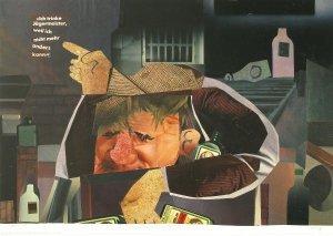 Lebenshilfe durch Werbung (Jägermeister, Mann)
