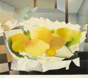 Stilleben mit Zitrone