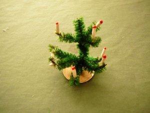 Weihnachtsbaum, Puppenstube