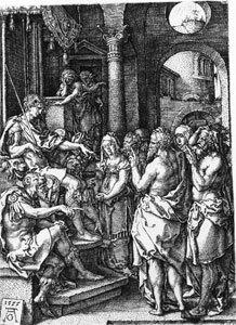 Die Greise beschuldigen Susanna
