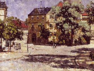 Schloßplatz zu Weimar