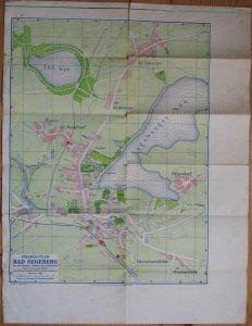 Landkarte von Bad Segeberg