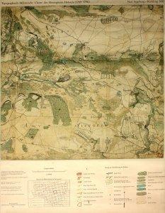 Landkarte Repro