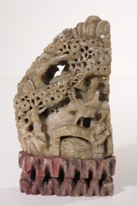 o.T.; figürliche Szenerie