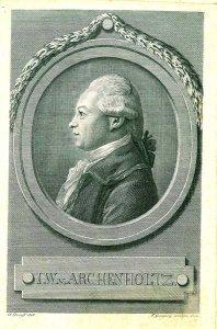 Joh.Wilhelm. v. Archenholtz