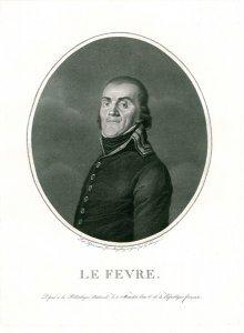 Lefebvre, frz. Marschall (Le Fevre)