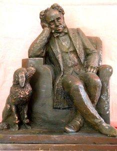 Schopenhauer mit Pudel