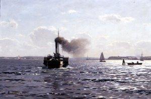 Die Ostsee bei Flensburg