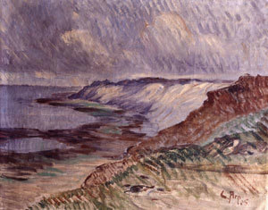 Küstenlandschaft auf Sylt: Morsum Kliff