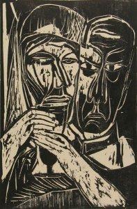 Priester mit Kelch