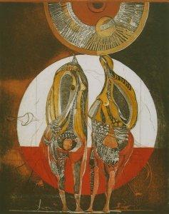 Zwei Meermuschelfrauen