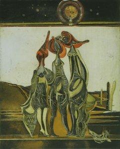 Meerfrauen mit Muschelhüten