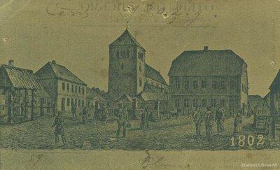 Cēsis 1802.gadā