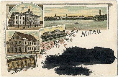 Jelgava. Fotokolāža