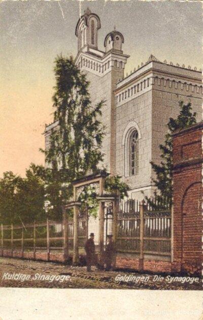 Kuldīga. Sinagoga