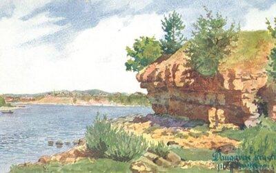 Daugavas krasts pie Plaviņām