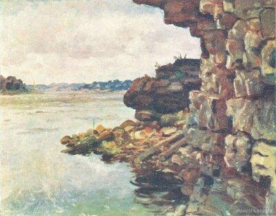 Pļaviņas. Daugavas krasts