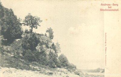 Daugava. Andreja klints