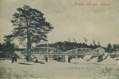 Tilts pār Gauju pie Raiskuma Cēsīs