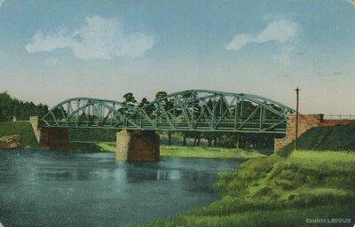 Tilts pār Gauju Cēsīs pie Raiskuma