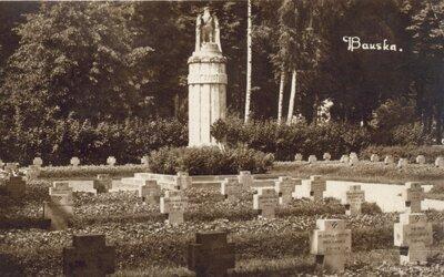 Bauska. Pirmā pasaules kara vācu karavīru kapi