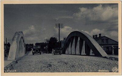 Dzelzbetona tilts. Rēzekne