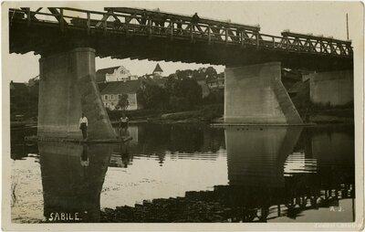 Sabile. Tilts pār Abavu
