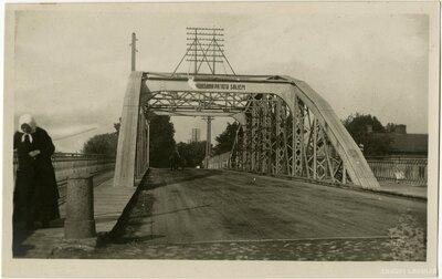 Tilts pāri dzelzceļam Daugavpils centrā