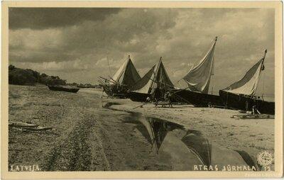 Jūrmala. Zvejas laivas