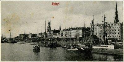 Rīga. Daugavas krasts