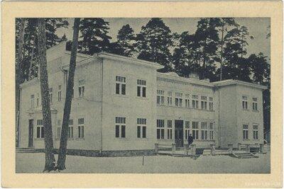 Latvijas Dzelzceļnieku biedrības atpūtas nams Bulduros