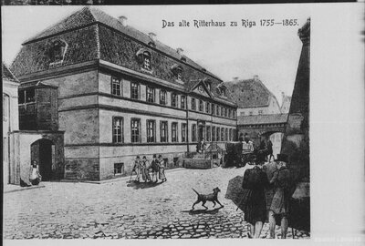Senais Bruņniecības nams