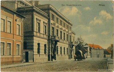 Vācu amatnieku biedrības nams Jelgavā