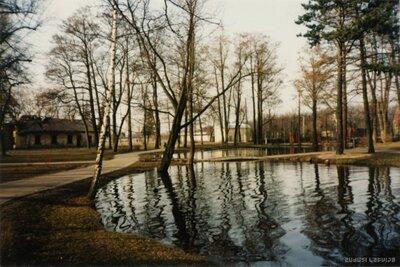 Rīga. Mārupīte Arkādijas parkā