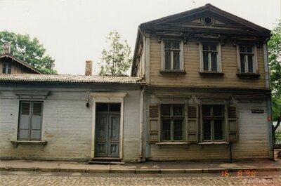 Rīga. Nams Friča Brīvzemnieka ielā